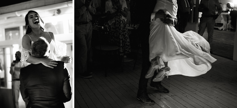 experimental beach club wedding photographer